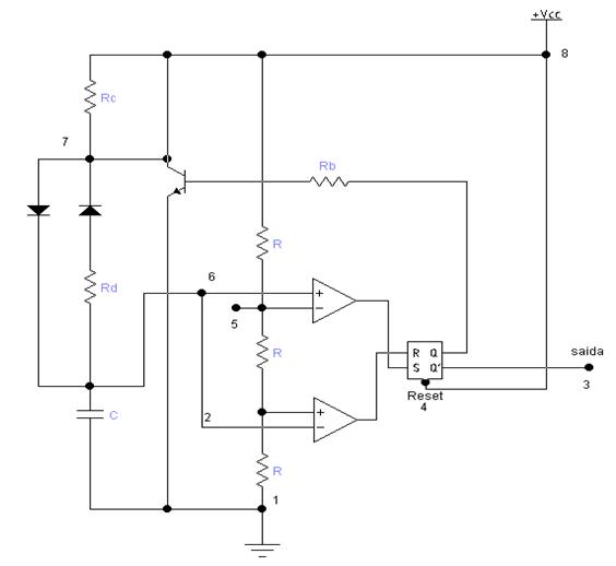 LM555, como funciona o 555
