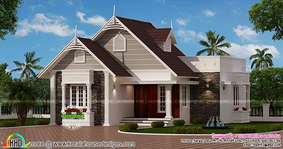 Small European style house