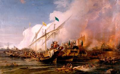 معركة بروزة -خير الدين بربروسا