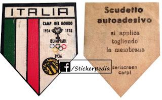 Calciatori panini 1963/64 italy italia emblem scudetto
