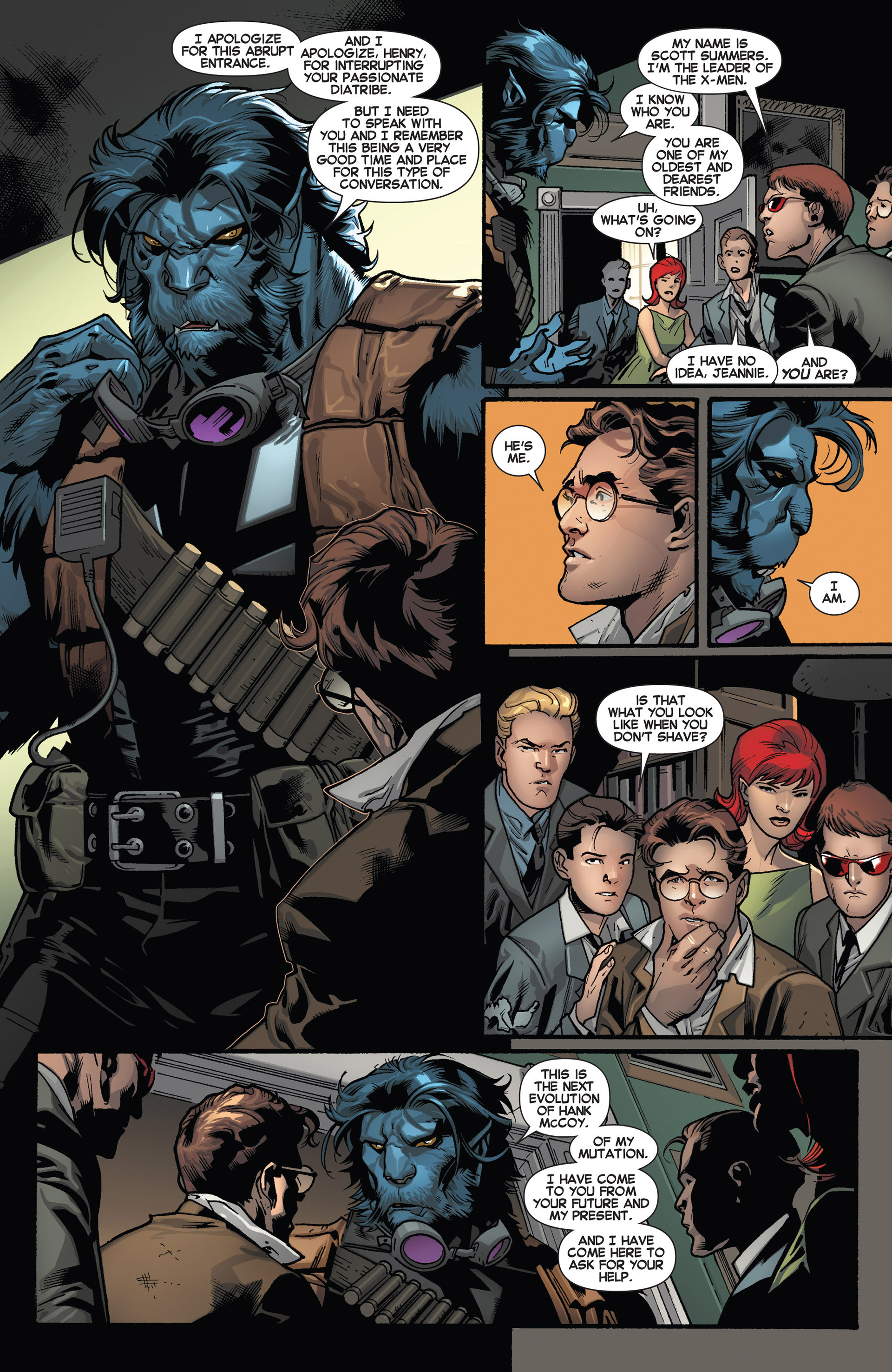 Read online All-New X-Men (2013) comic -  Issue #1 - 19