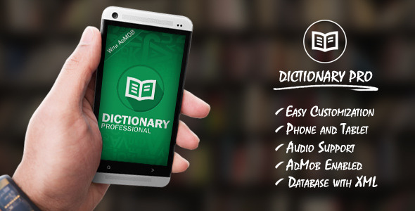 Dictionary Pro With Admob CodeCanyon ~ WITH-PRO