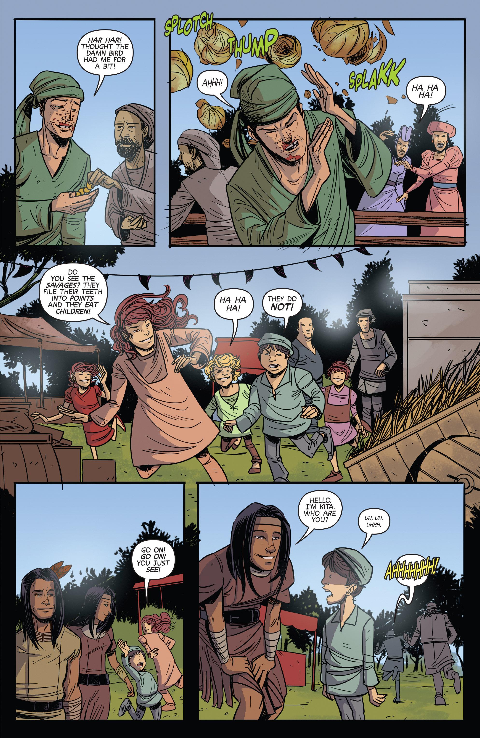 Read online Turok: Dinosaur Hunter (2014) comic -  Issue # _TPB 3 - 31