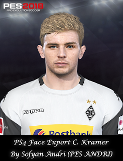 PES 2018 Faces Christoph Kramer By Sofyan Andri