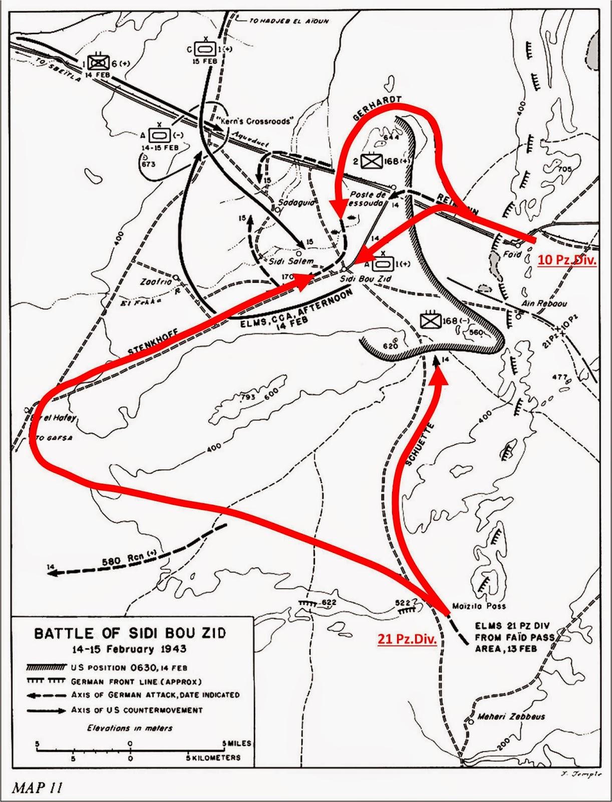 The battle of Sidi-Bou-Zid