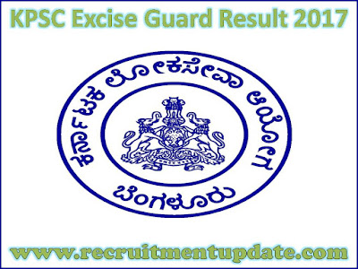 KPSC Excise Guard Result