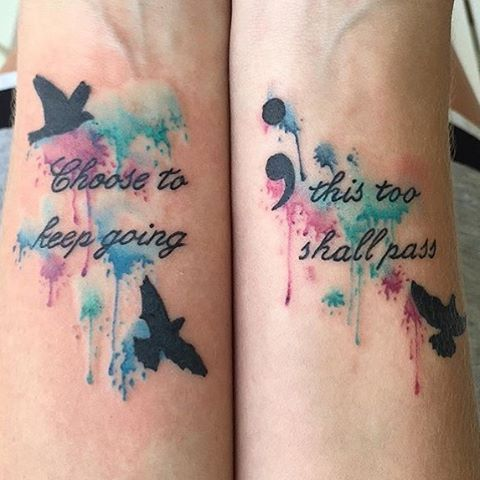 Creative Watercolor Tattoo Ideas