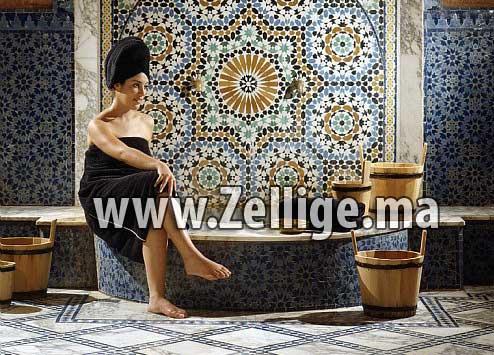 salle de bain hammam en zellige mosa que catalouge 2013 hammam marocain. Black Bedroom Furniture Sets. Home Design Ideas