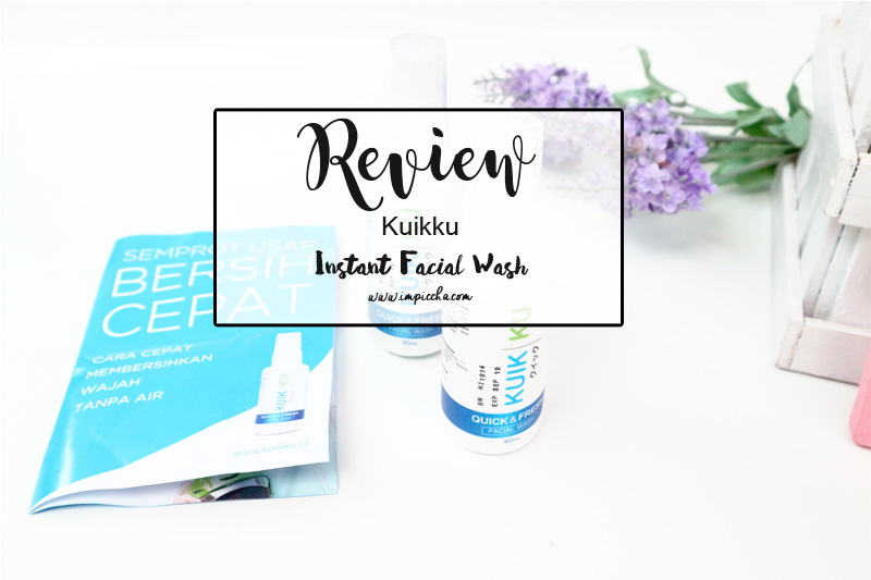 Review Kuikku Instant Facial Wash