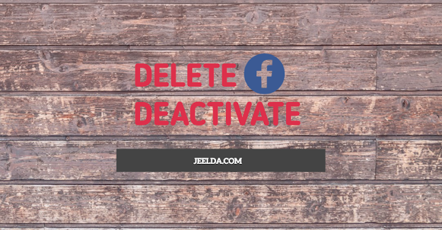 Deactivate and Delete Facebook Account | Erase & Cancel FB Account Permanently