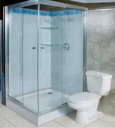 En cuanto al vidrio este puede ser humo para baños compartidos o ahumado para  baños privados. En Instalaciones Técnicas velamos por usar vidrio de 8 mm  ... 49c9feb87829