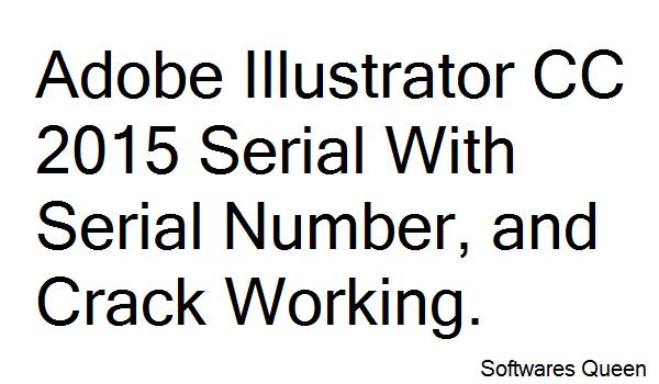 free adobe illustrator cc serial number