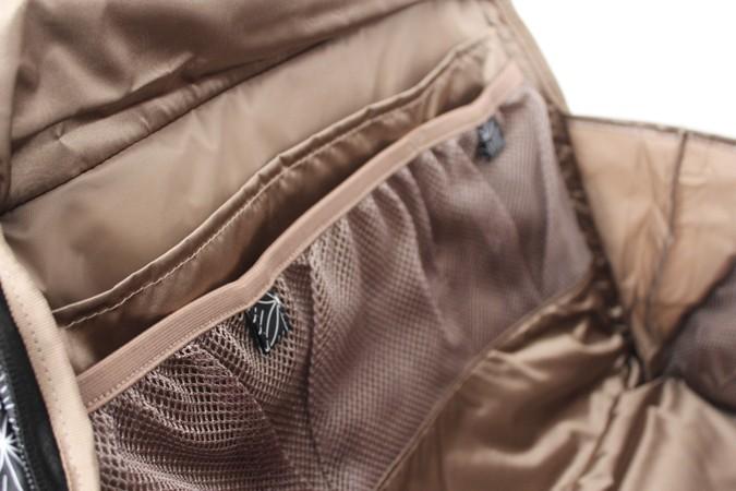 Bolsillos interiores del bolso maternal Be prepared