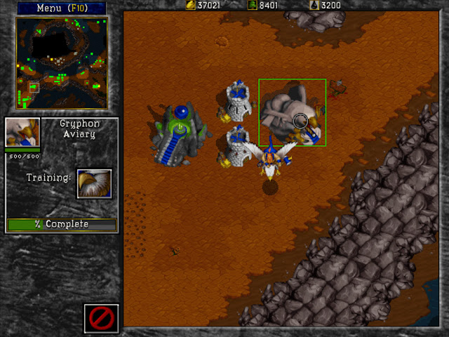 Warcraft 2 Gryphon Aviary Screenshot