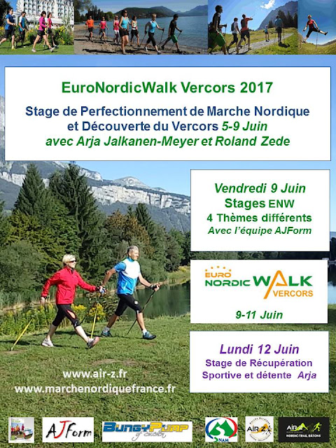 Stages Euronordicwalk Vercors 5-12.6.2017