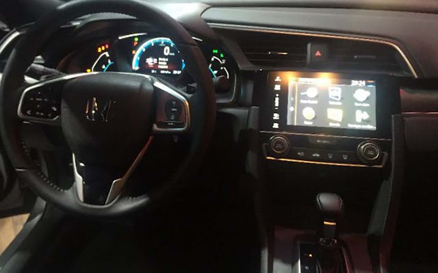 Novo Honda Civic 2017 - interior