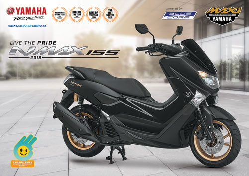 "Launching YAMAHA NMAX 155 Model 2018 ""LIVE THE PRIDE"" di Pontianak"