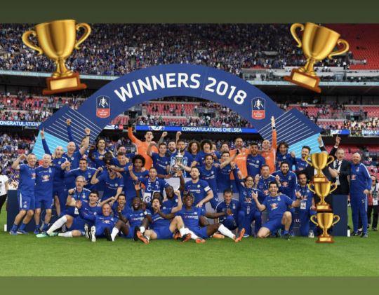 Postingan Willian Ejek Conte di Piala FA