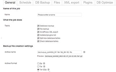 BackWPup Free - WordPress Backup Plugin