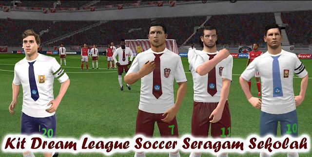 Kit Dream League Soccer Seragam Sekolah