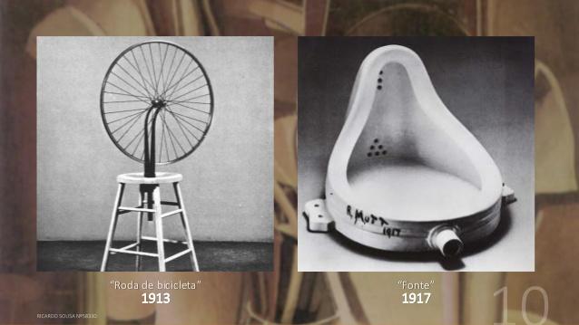 Duchamp, A Bicicleta e O Mictório