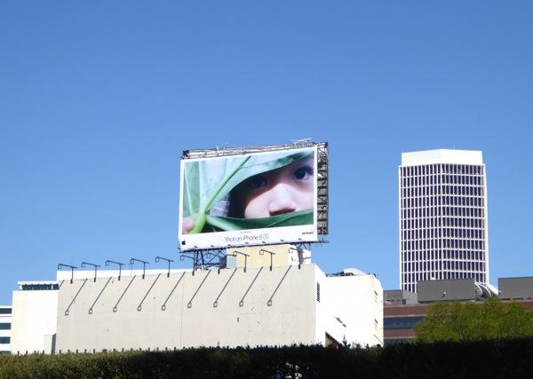 Giant Shot on iPhone 6s billboard