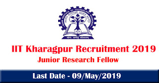 IIT Kharagpur Recruitment 2019
