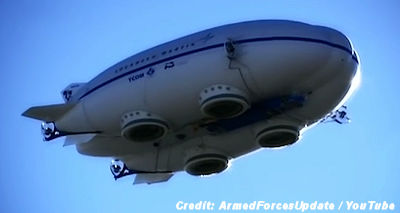 Air Force Unveils Hybrid Airship