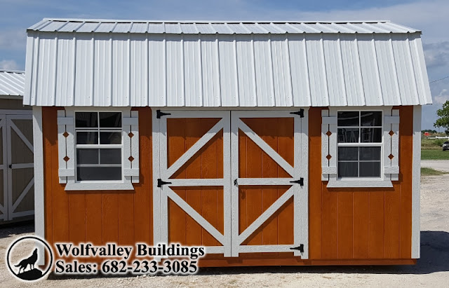 Lofted Barn 10x16 Portable Storage Building, Free Delivery Direct From Our  Texas Factory!
