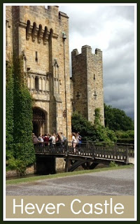 Family day at Hever Castle