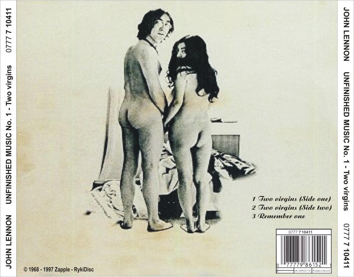 Αποτέλεσμα εικόνας για Unfinished Music, Vol. 1: Two Virgins