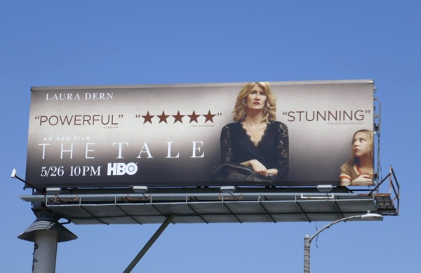 The Tale HBO film billboard