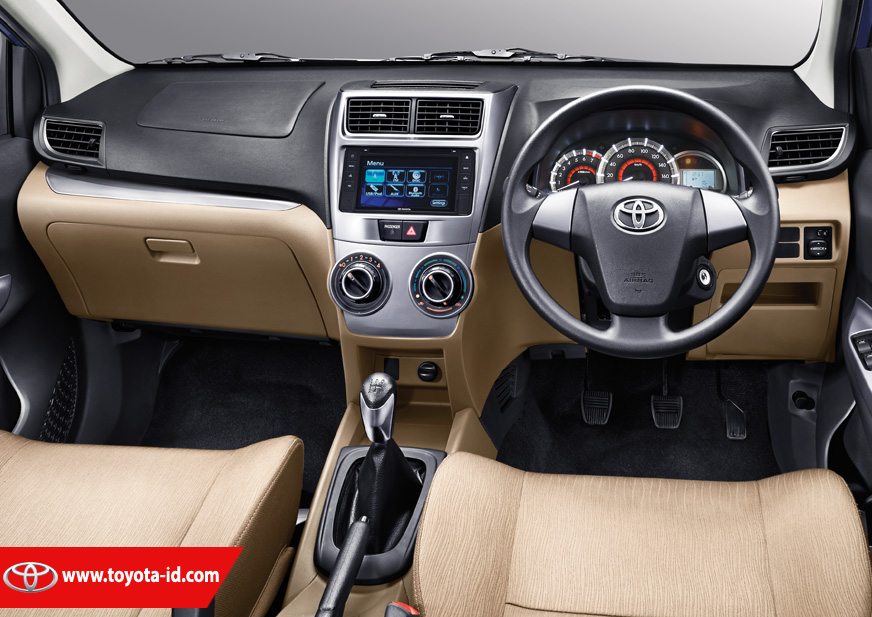Grand New Avanza G Luxury Vs Xenia Spesifikasi Lengkap 1 5 M T Toyota Astra Indonesia Interior