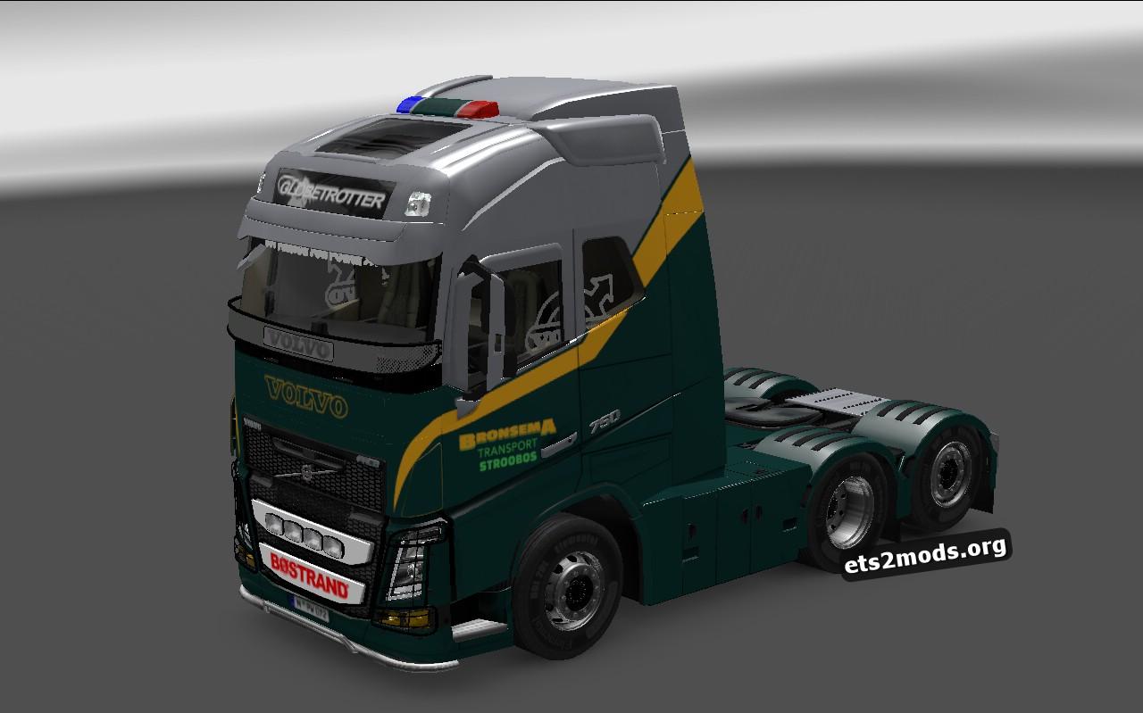 Bronsema Transport Skin for Volvo 2013