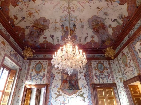 Vienne Vienna Wien Belvédère inférieur palais schloss salle grotesques