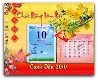 phần mềm lịch Việt 1