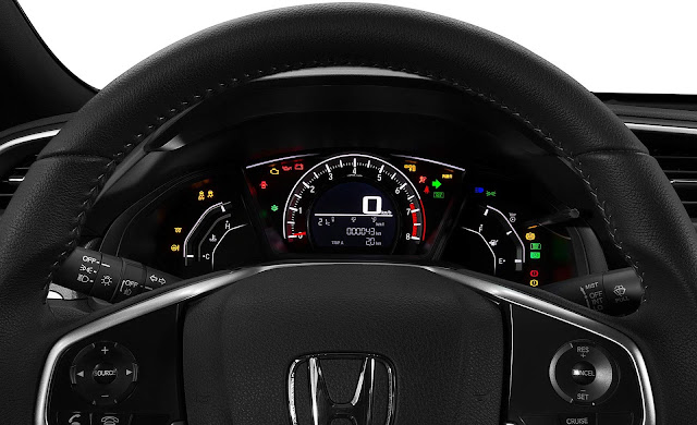 Honda Civic 2.0 Sport - interior