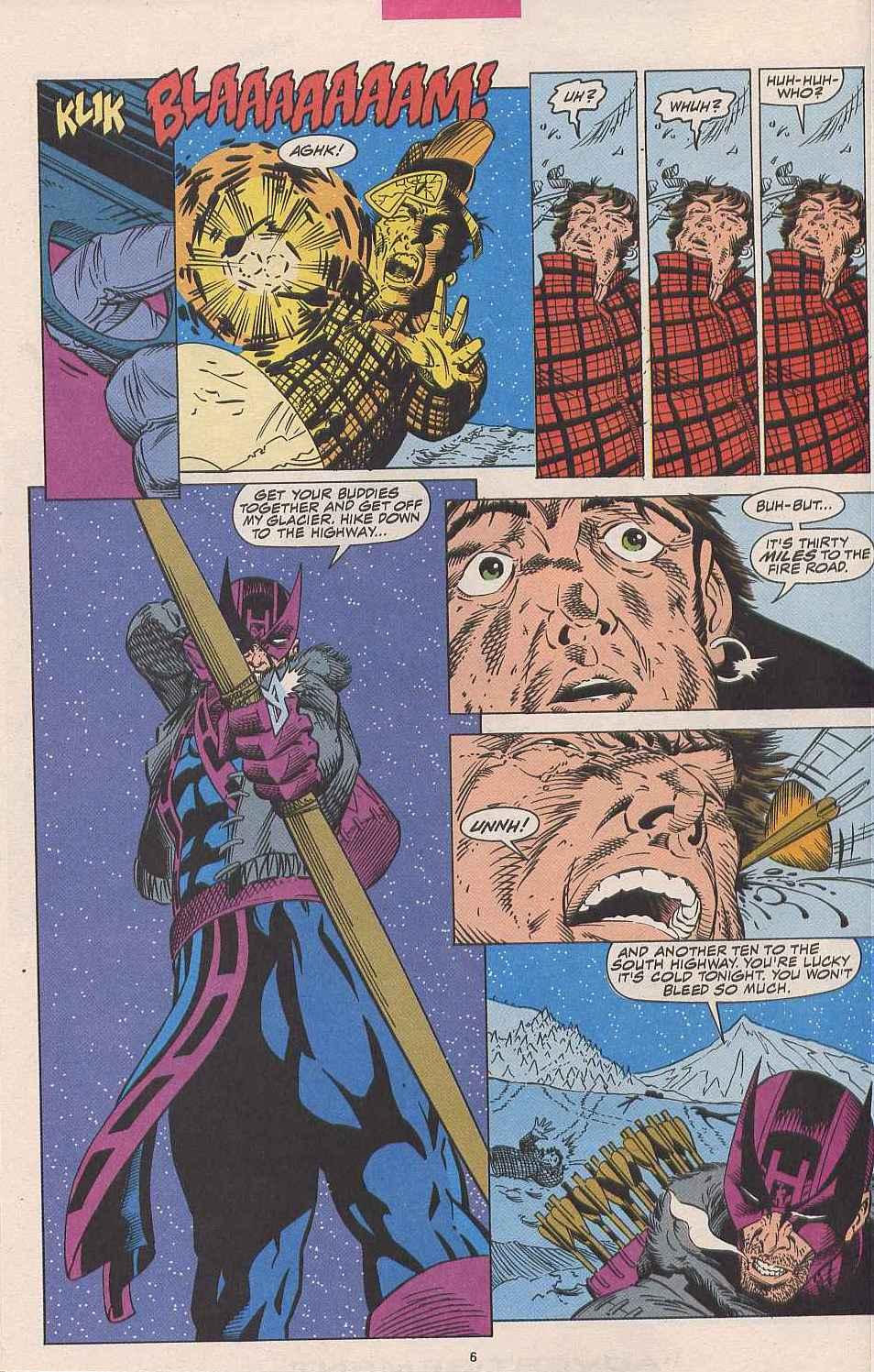 Hawkeye (1994) Issue #1 #1 - English 6