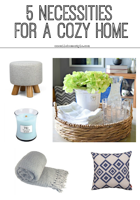 Want your home to feel cozy? Here are the 5 necessities to get the look just right!