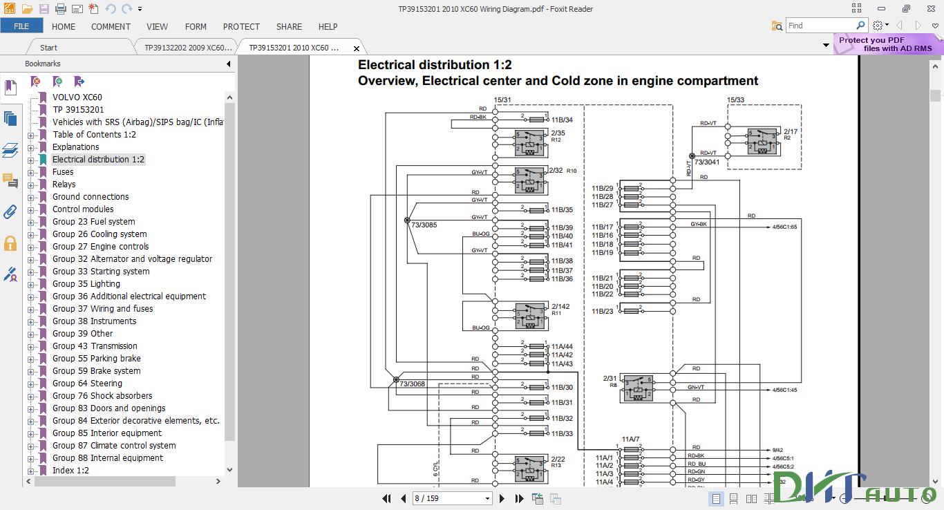 2009 201volvo xc6wiring diagram