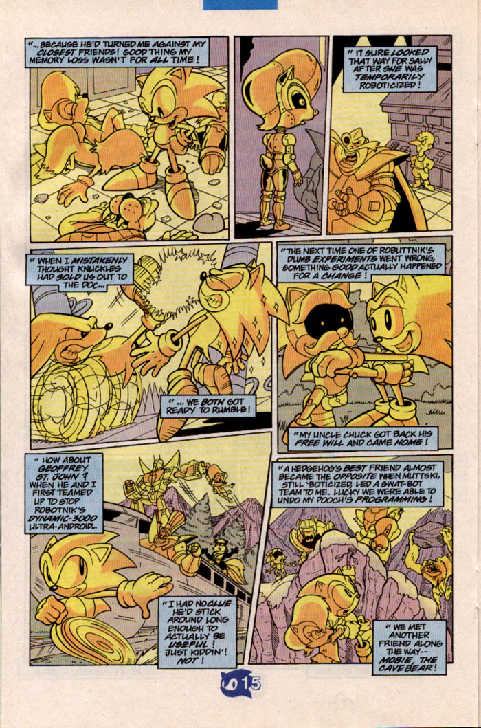 Read online Sonic The Hedgehog comic -  Issue #57 - 17