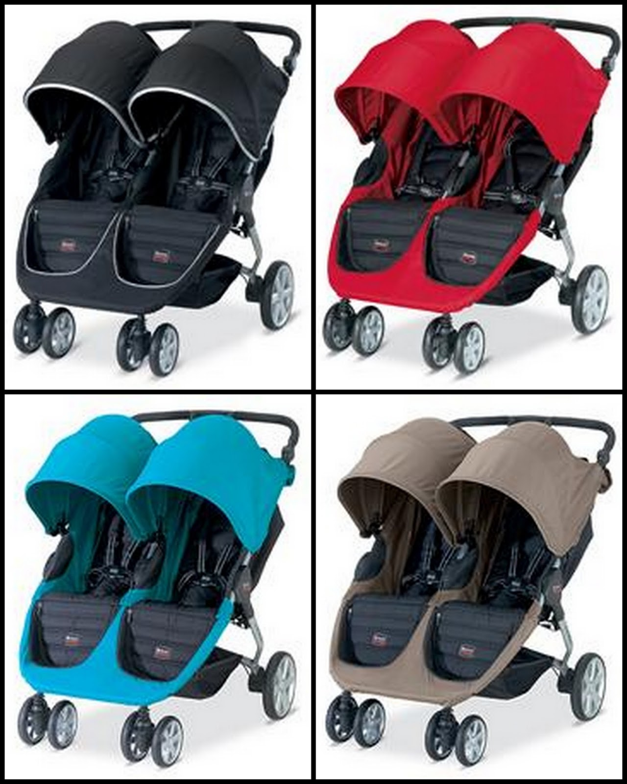 Britax Double Pushchair Reviews Britax B Agile Double Stroller Review Thrifty Nifty Mommy