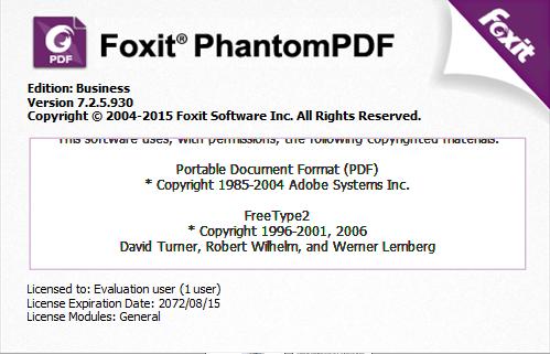 foxit phantom activation key