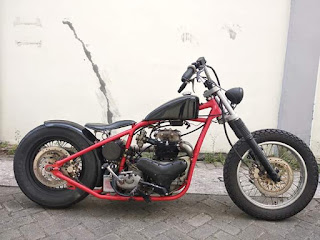 Power maguro gearbox bsa  Frame custom