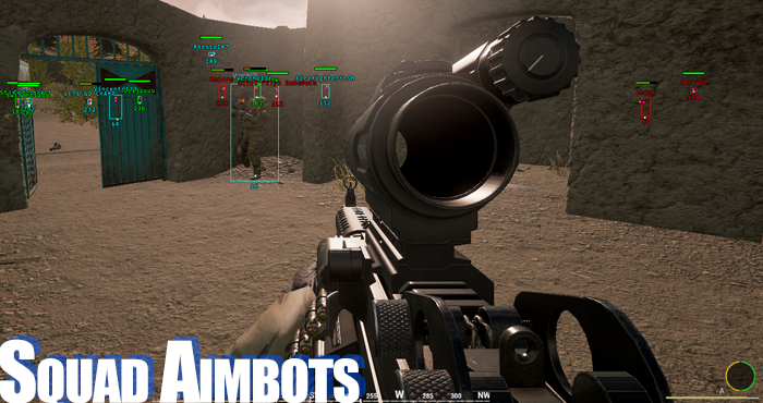 Squad Tactical Shooter Game Hacks, Aimbots and Cheats ~ Vorv