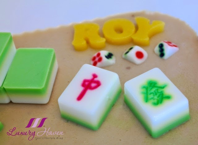 food art edible mahjong tiles agar agar recipe