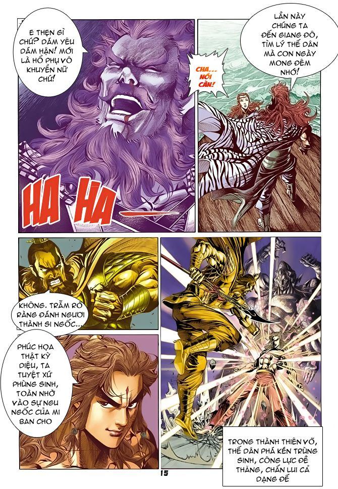 Đại Đường Uy Long chapter 63 trang 14