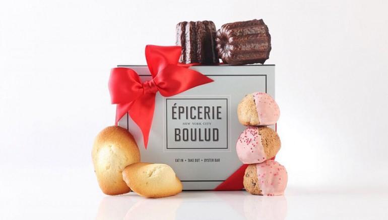 Épicerie-Boulud-Geschenk-Kästen