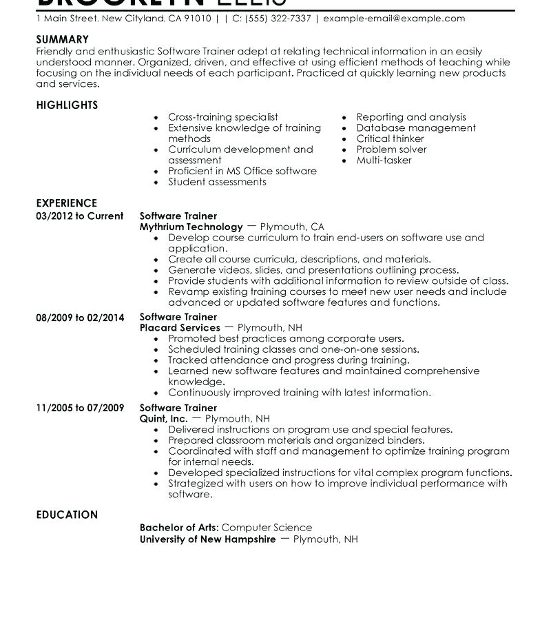 Perfect It Resume Professional Template With Brilliant Ideas Free Sample