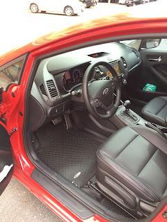 Thảm lót sàn ô tô Kia Cerato
